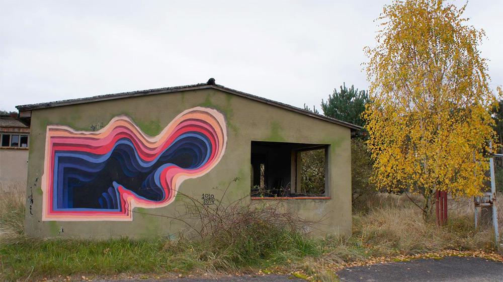New Murals by '1010' Exhibit Hidden Portals of Color in Walls and Buildings (5)