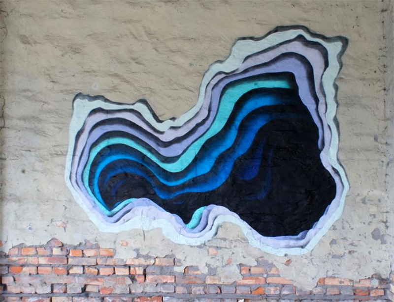 New Murals by '1010' Exhibit Hidden Portals of Color in Walls and Buildings (6)
