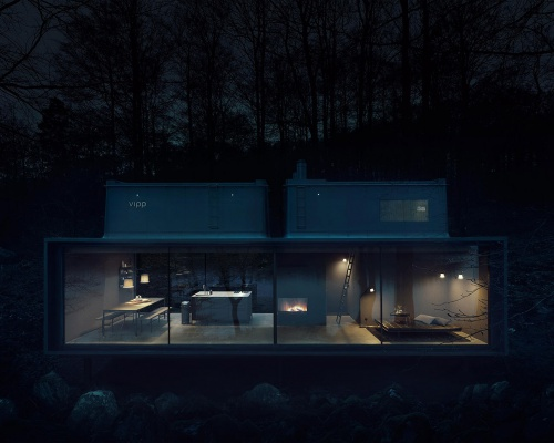 The Shelter that embraces nature by VIPP