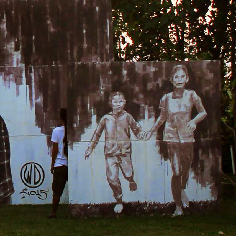 WD unveils Money Kills, a new mural in Bali, Indonesia (1)