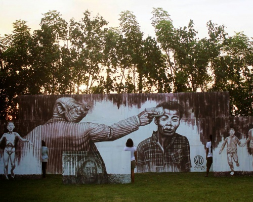 WD unveils Money Kills, a new mural in Bali, Indonesia