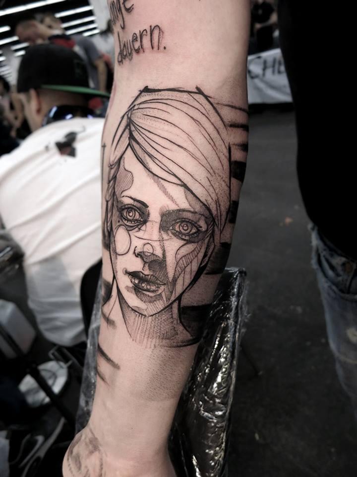 Anki Michler, tattoo artist (1)