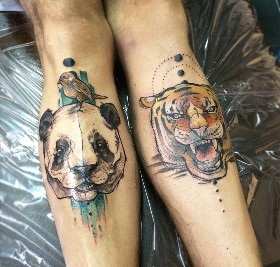 Anki Michler, tattoo artist (20)