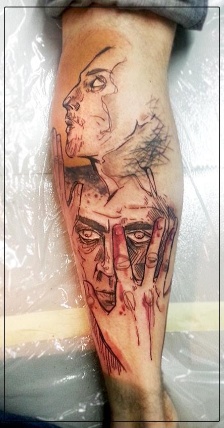 Anki Michler, tattoo artist (22)