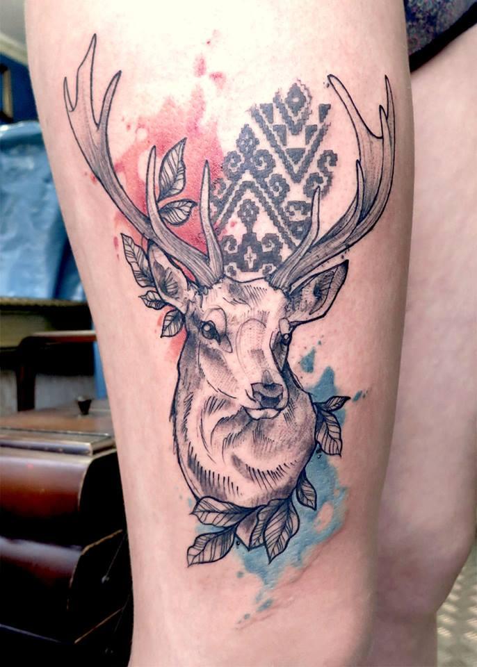 Anki Michler, tattoo artist (24)