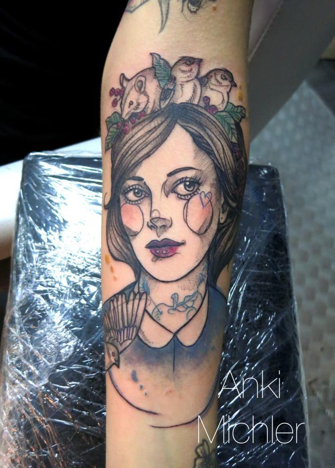 Anki Michler, tattoo artist (3)