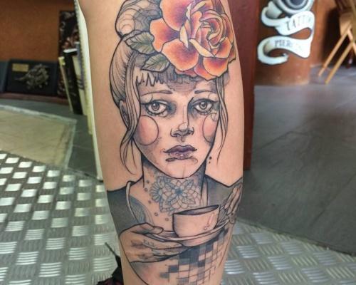 Anki Michler, tattoo artist