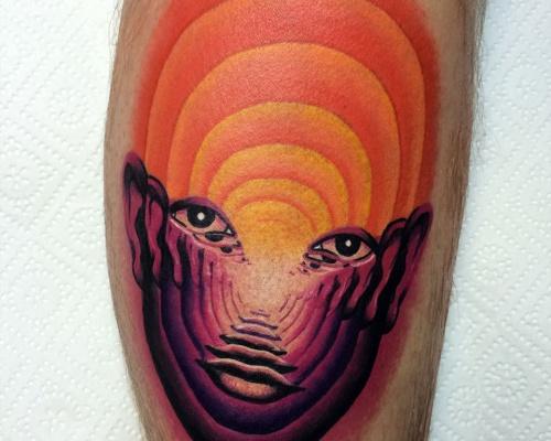 Giena Todryk, tattoo artist