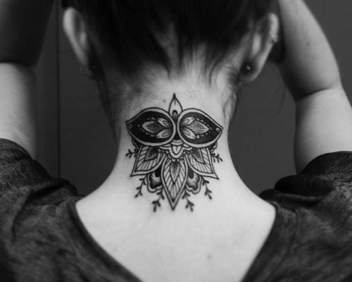 Jesse, Scratchline tattoo