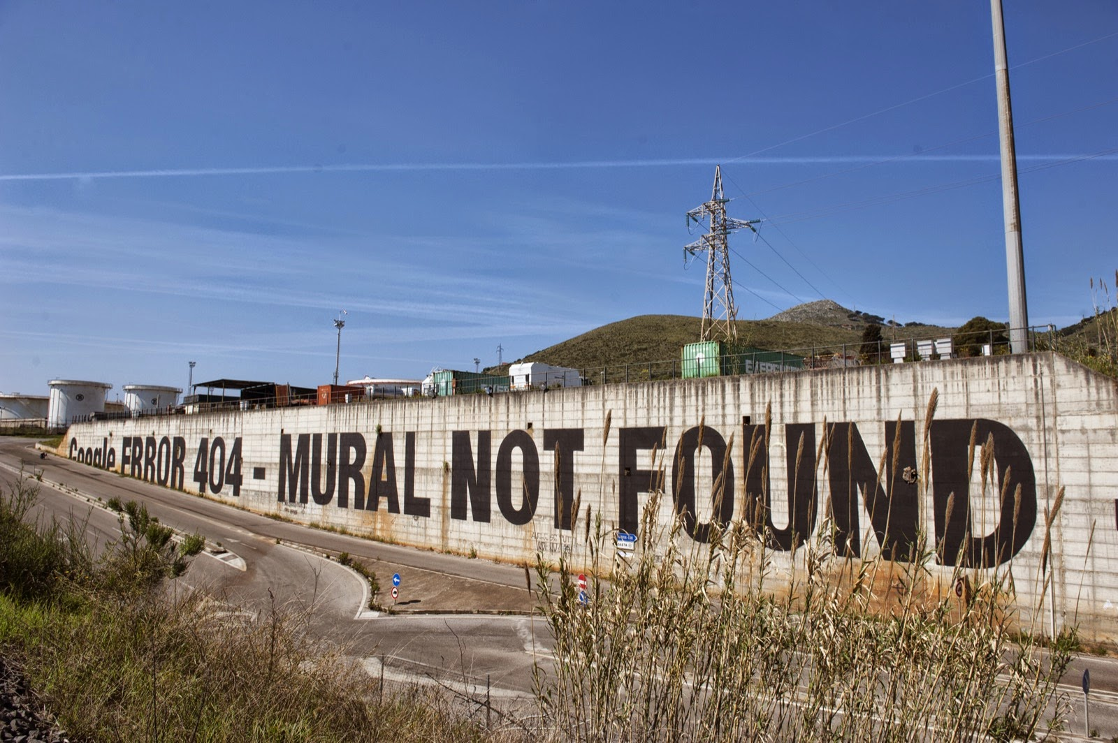 MTO unveils We Live On Google Earth, a brand new mural in Gaeta for Memorie Urbane (2)