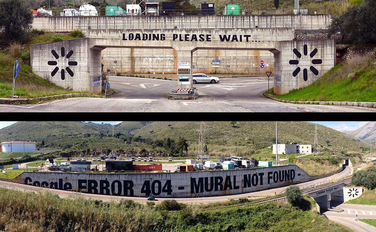 MTO unveils We Live On Google Earth, a brand new mural in Gaeta for Memorie Urbane (9)