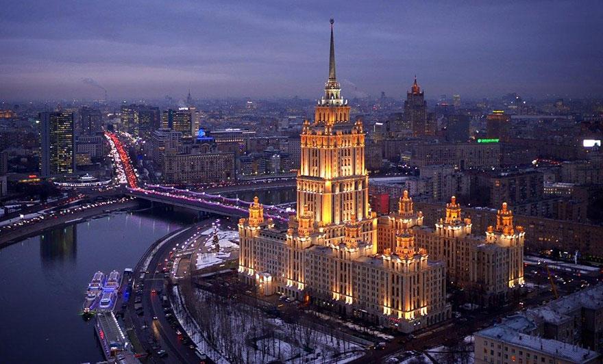Moscow's Hotel Ukraina