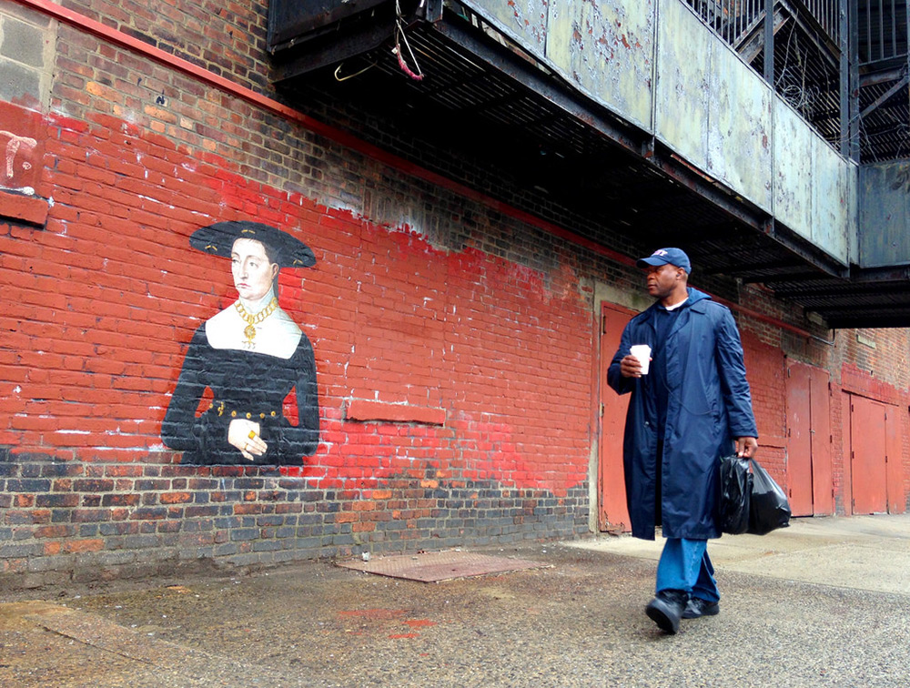 Released Paintings of Anonymous Figures out of Museums and onto the Streets through a Global Art Project (7)
