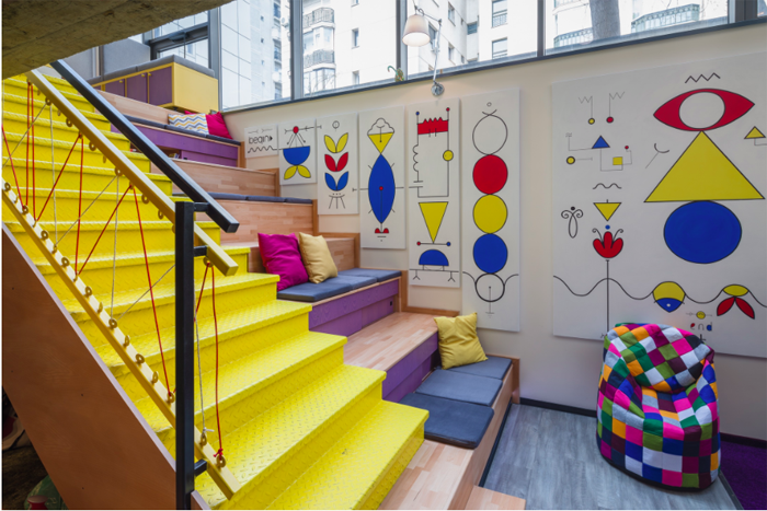 The cool mix & match B.sorted offices in Bucharest - the vandallist (1)