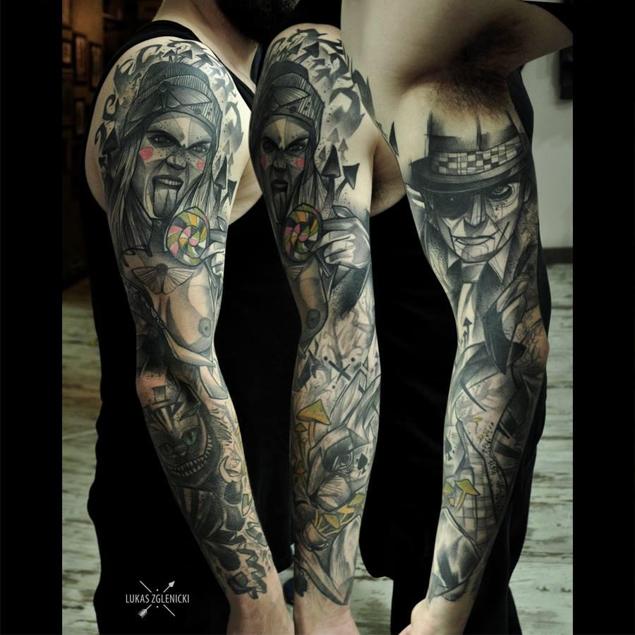 Łukasz Zglenicki, tattoo artist - the vandallist (32)