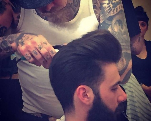 HOW TO CUT A CLASSIC POMPADOUR