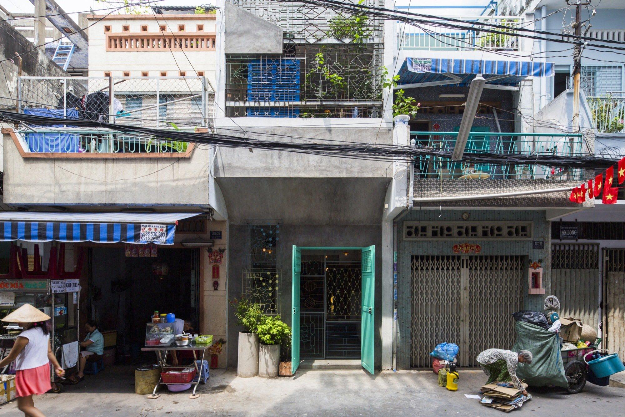 A house like no other Saigon House by a21studio - the vandallist (14)