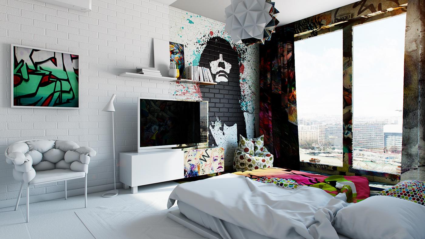 Amazing Interior Design Illustrations by Pavel Vetrov - the vandallist (2)