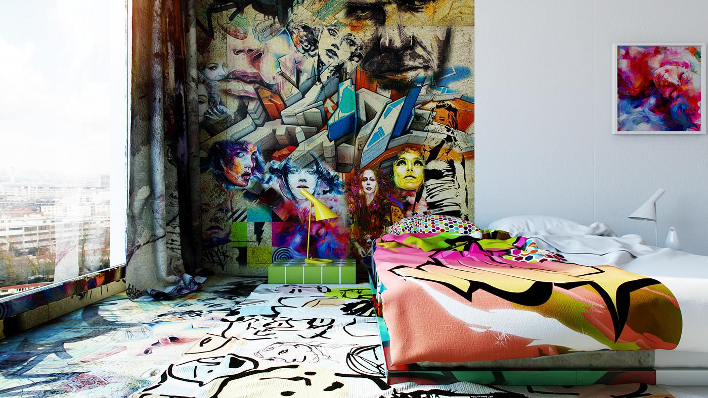 Amazing Interior Design Illustrations by Pavel Vetrov - the vandallist (5)