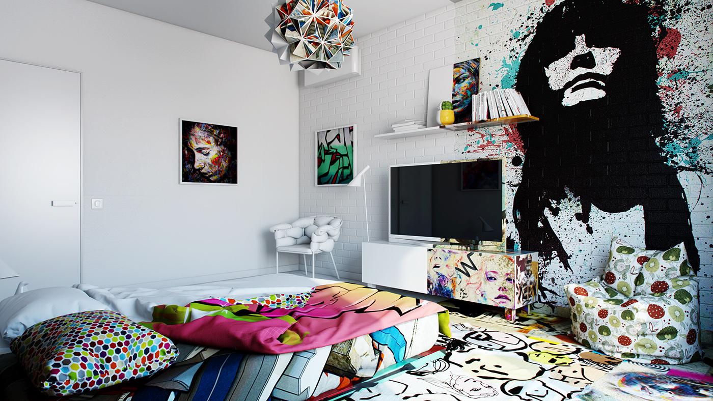 Amazing Interior Design Illustrations by Pavel Vetrov - the vandallist (6)