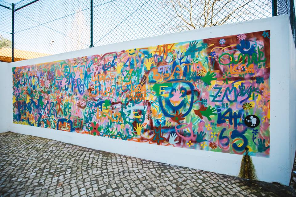 Lisbon is Overthrowing Street Art Clichés through Creative Workshops for Older People - the vandallist (1)