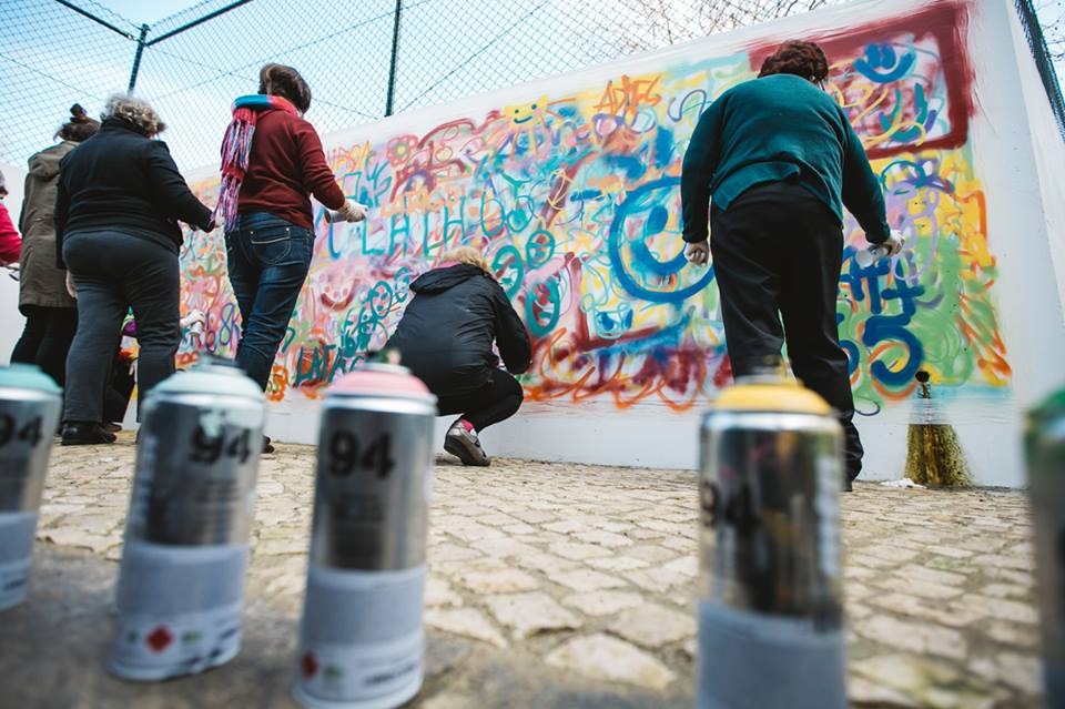Lisbon is Overthrowing Street Art Clichés through Creative Workshops for Older People - the vandallist (4)