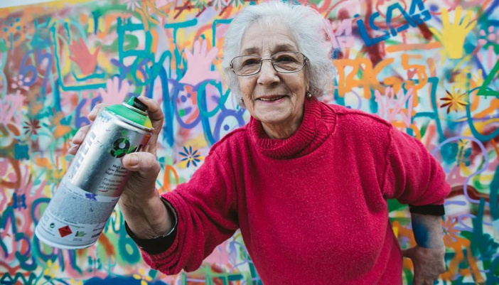 Lisbon is Overthrowing Street Art Clichés through Creative Workshops for Older People