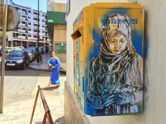 New street art work series by C215 (3)