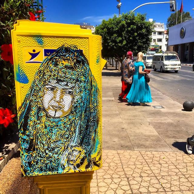 New street art work series by C215 (6)