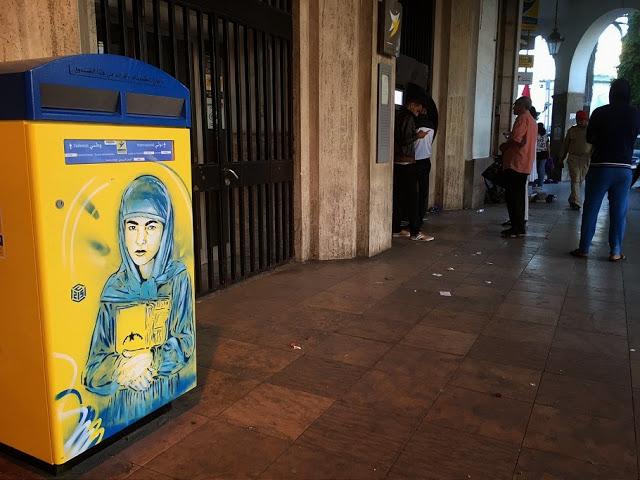 New street art work series by C215 (7)