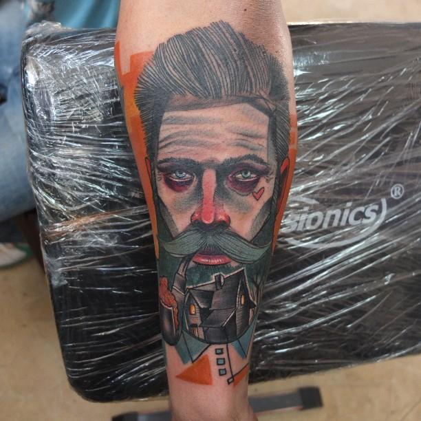 Schwein, tattoo artist - the vandallist (1)
