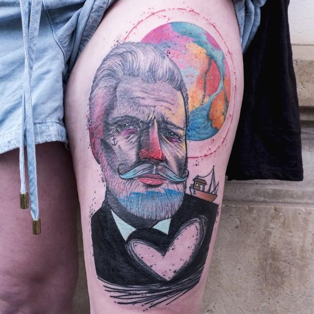 Schwein, tattoo artist - the vandallist (2)