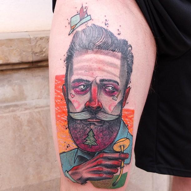 Schwein, tattoo artist - the vandallist (4)