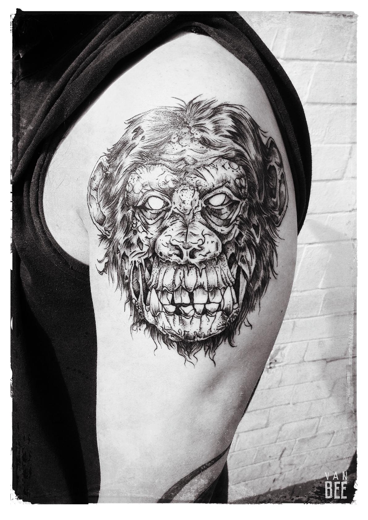 Van Bee, tattoo artist - the vandallist (1)