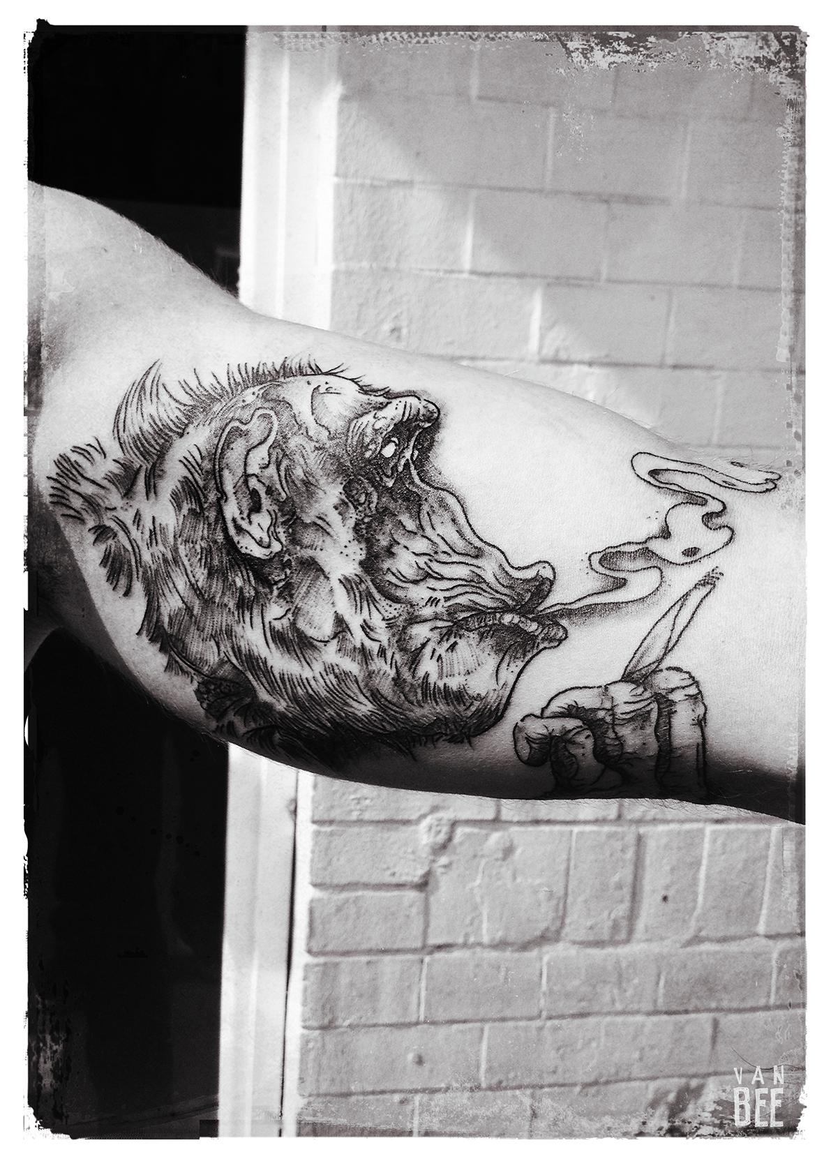 Van Bee, tattoo artist - the vandallist (5)