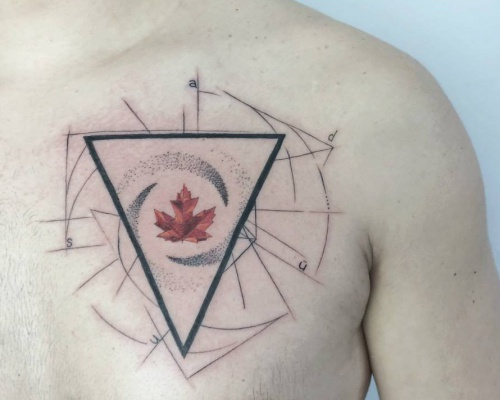 Baris Yesilbas, tattoo artist