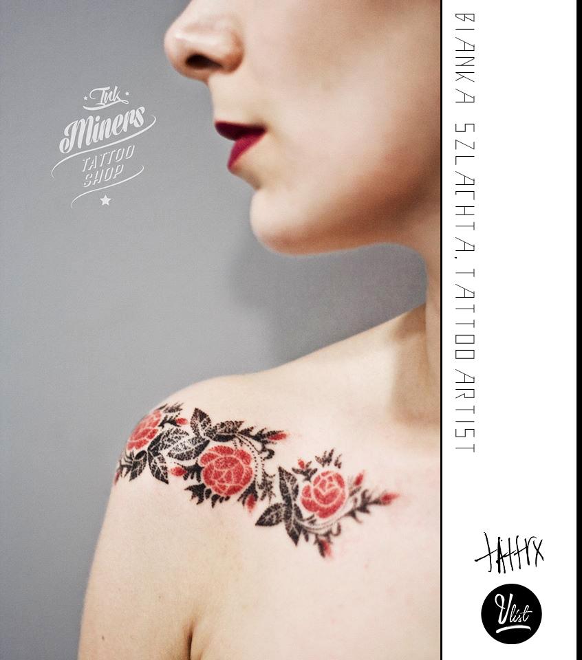Bianka Szlachta, tattoo artist - the vandallist