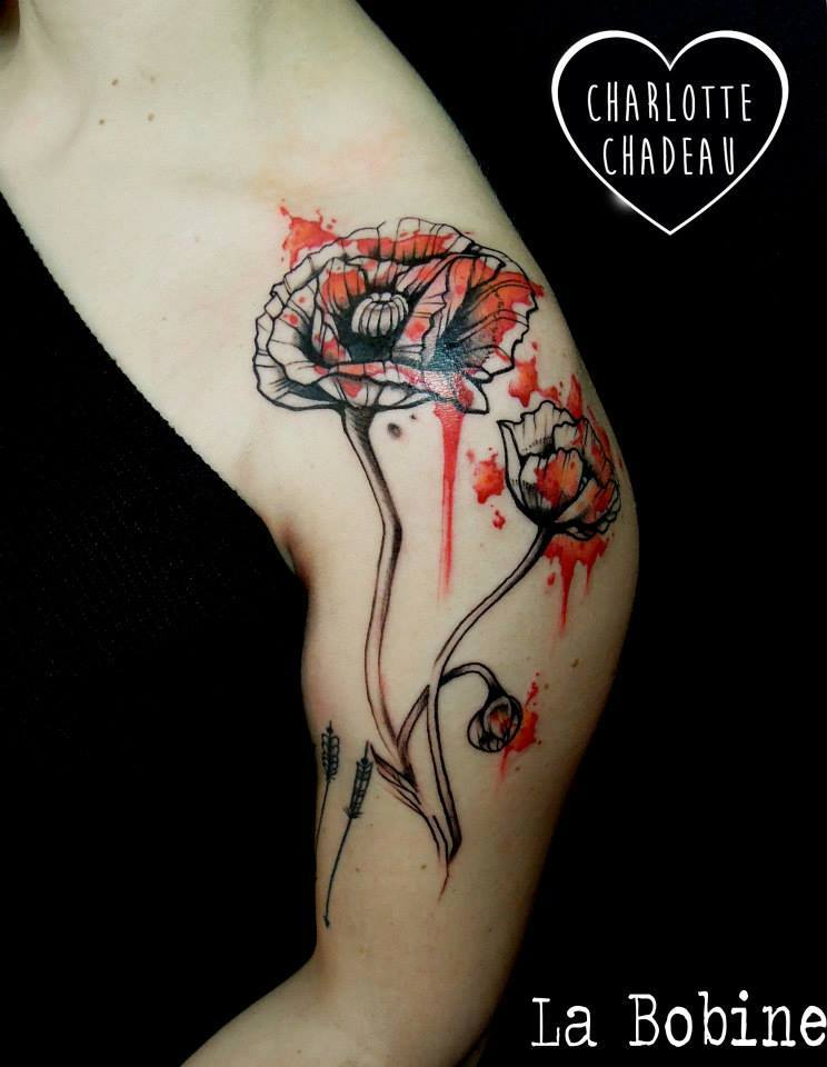 Charlotte Chadeau - tattoo artist at La Bobine Tattoo Club - the vandallist (13)