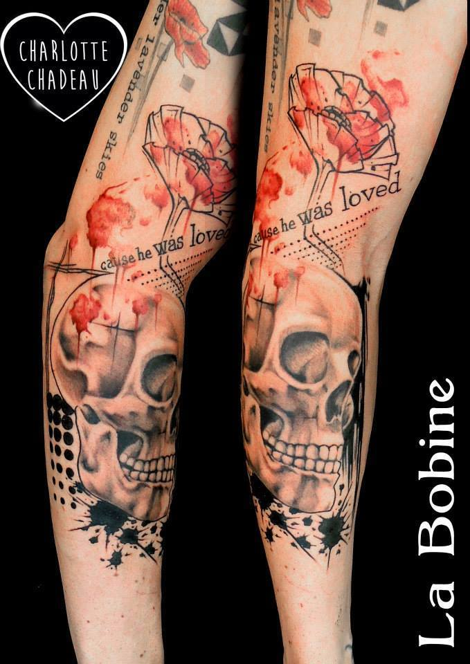 Charlotte Chadeau - tattoo artist at La Bobine Tattoo Club - the vandallist (8)
