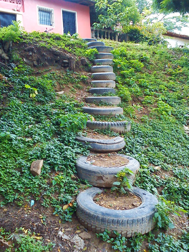 Clever ways to redesign the use of old tires - the vandallist (13)