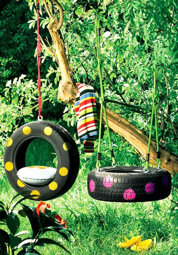 Clever ways to redesign the use of old tires - the vandallist (8)