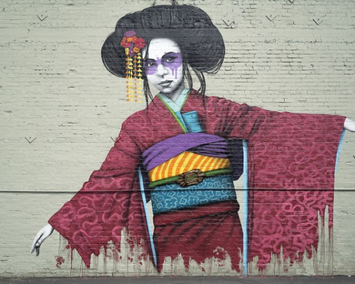 FinDAC new mural in Los Angeles, California