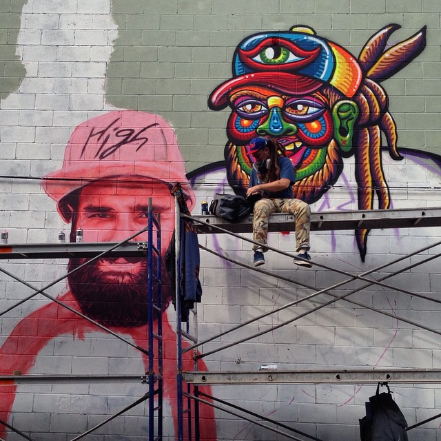 La Famille collaborative mural  VIDEO - the vandallist (2)