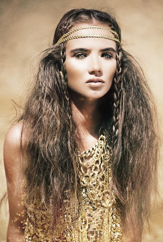 Tribal braids ... - Easy To Rock Festival Hairstyles – The VandalList