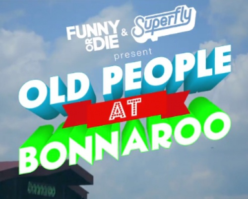 Old People At Bonnaroo | VIDEO