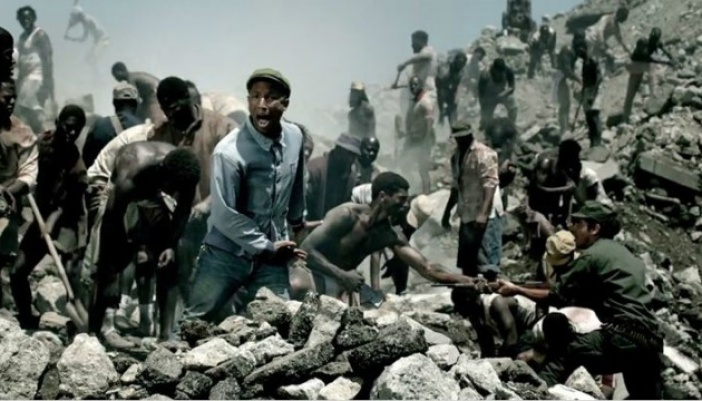 "Pharrell Williams ""Freedom"" Music Video"