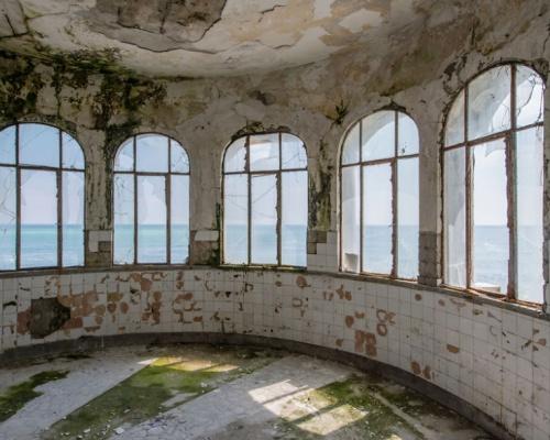 Abandoned, yet fascinating: Casino Constanta, Romania