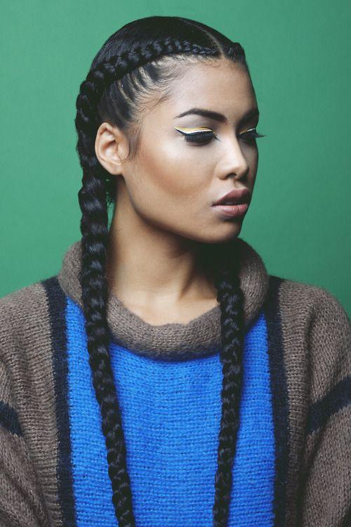 Cornrow braids - the vandallist