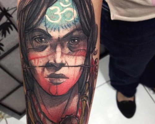 Felipe Rodrigues, tattoo artist