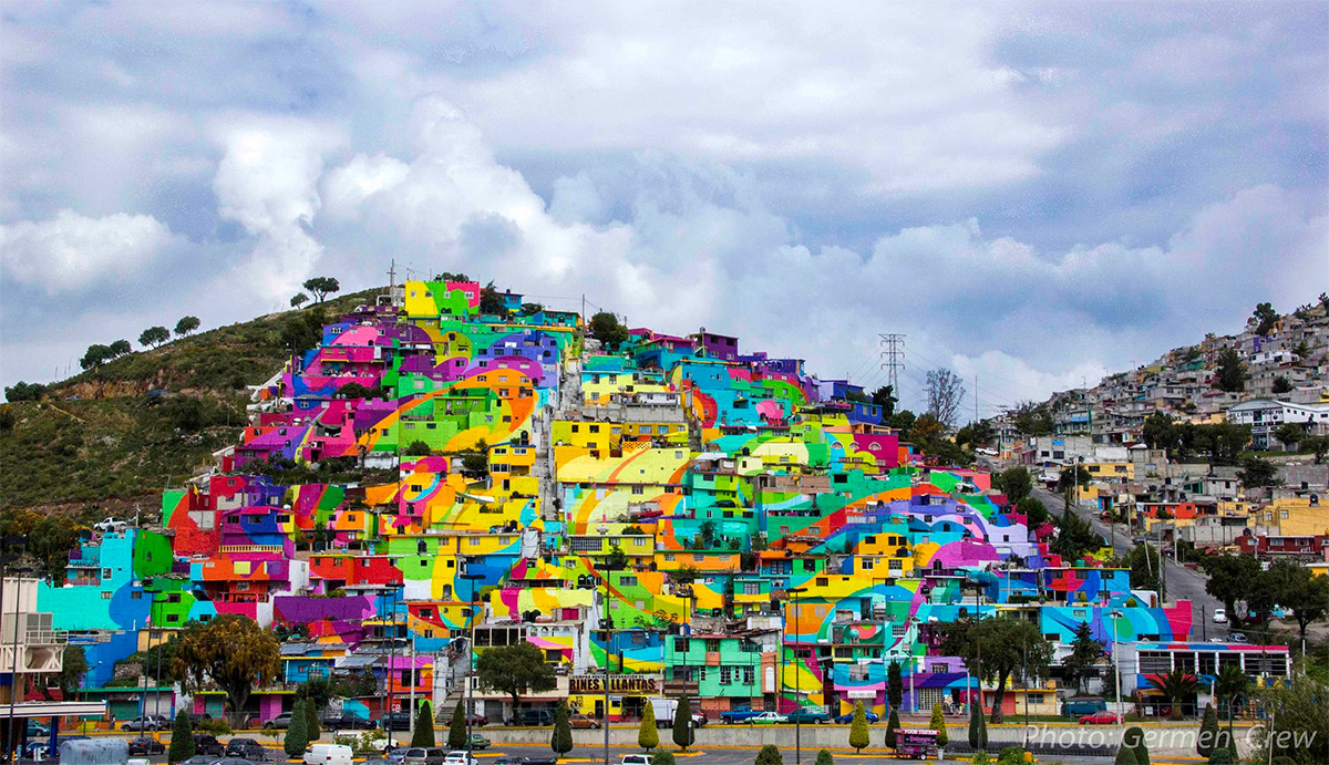 Germen crew Collaborate with Mexican Government for a giant piece in Pachuca, Mexico - the vandallist (3)
